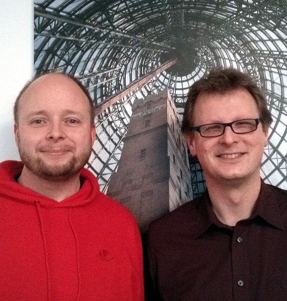 Jan Stender und Peter Fabricius berichten über ihr Egaming-Portal auf dem Pentaho Community Meeting