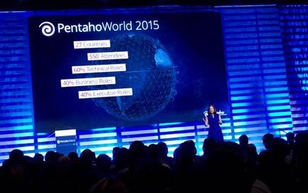 Wo geht die Big Data-Reise hin? Die Pentaho World 2015