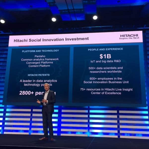 Kevin Egglestone, Senior VP at Hitachi Data Systems, at Pentaho World 2015