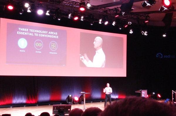Die Konferenz bot zahlreiche Vorträge aus dem Red Hat-Ökosystem