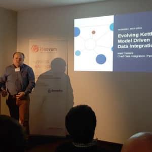 Matt Casters von Pentaho Data Integration referierte zur Evolution in der Datenintegrationsthematik