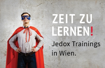 Ab November gibt es erstmals auch Jedox-Schulungen in Österreich