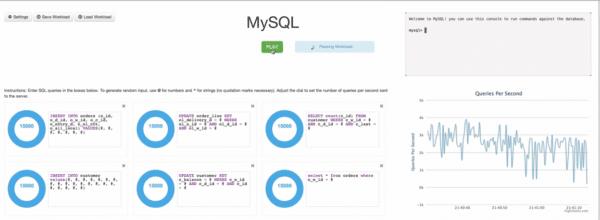 Die Antwortzeiten bei MySQL