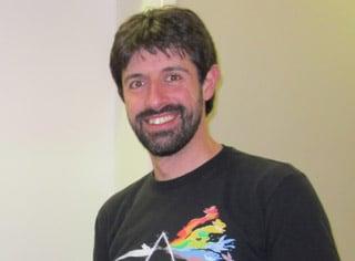 Pedro Alves spricht auf dem Pentaho User Meeting