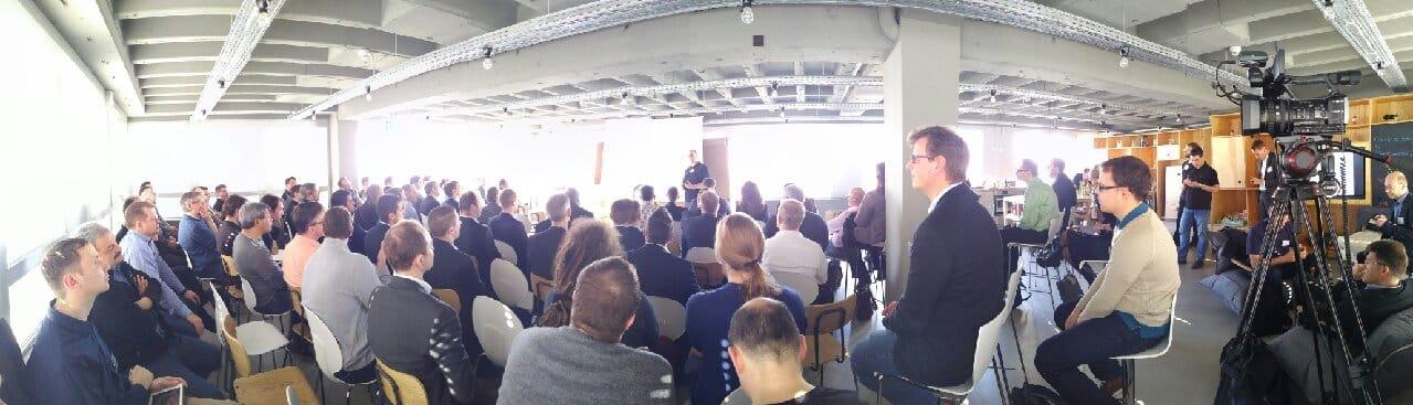 Mit 130 Teilnehmern war das Pentaho User Meeting bis auf den letzten Platz besetzt