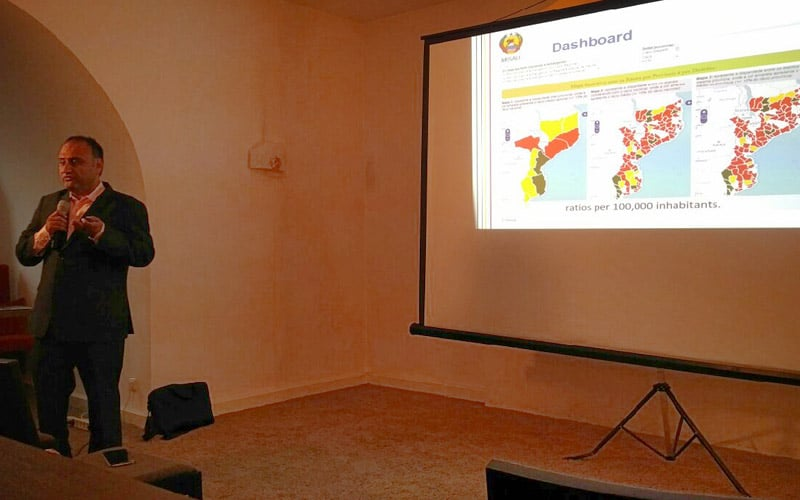 Devan's impressive and moving talk about Mozambique's health information system