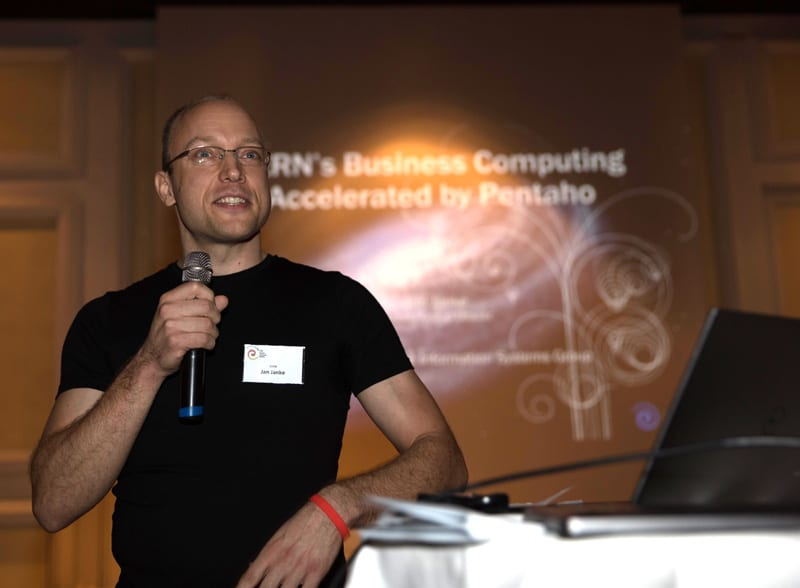 Probably one of the largest Pentaho users ever: CERN presented by Jan Janke