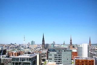 Pentaho-affine Stadt an der Elbe: Hamburg