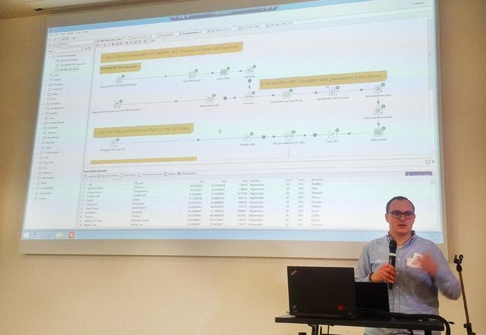 Visualisierung von SAP-Vertriebsdaten über Pentaho Data Integration