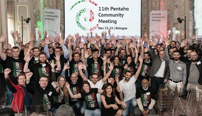 The data crowd of Pentaho Community Meeting