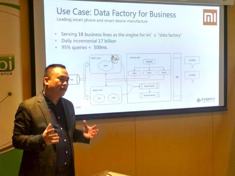 Big Data Analytics workshop 2ºed with Luke Han, creator of Kylin
