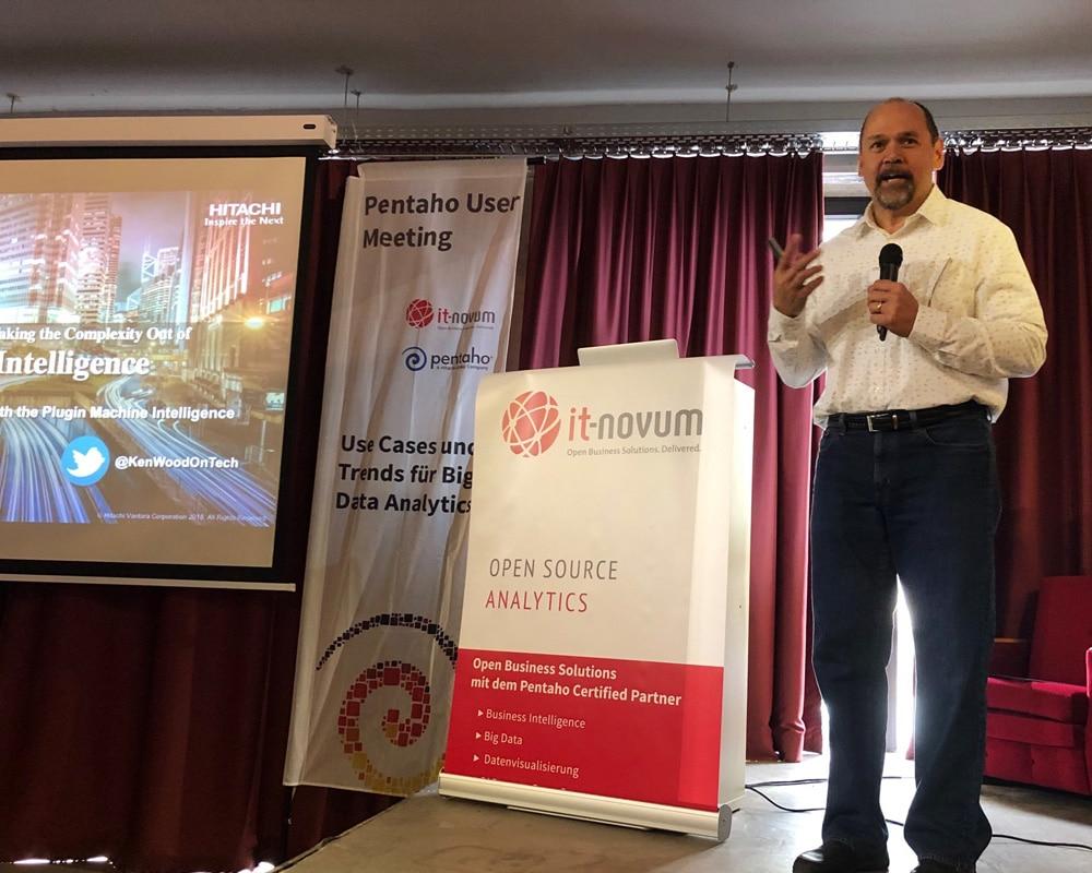 Ken Wood, ML-Experte und Leiter der Hitachi Labs