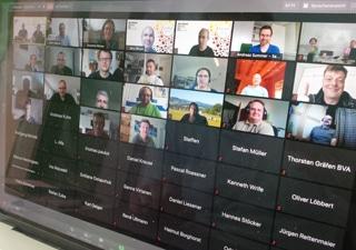 Gruppenbild - im Jahr 2020 virtuell :)